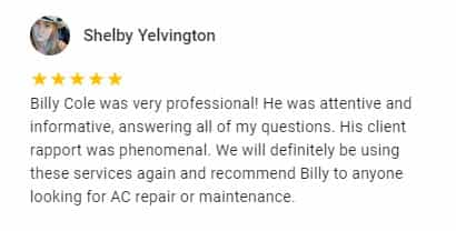 Google Review by Shelby Yelvington