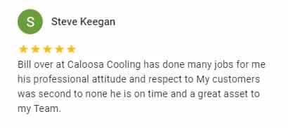 Google Review by Steve Keegan