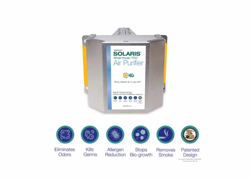 Bipolar Ionizer, Germicidal UV Light, Air Purifier
